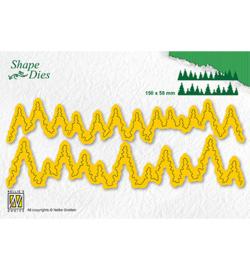 SD184 - Shape Dies -pine forest