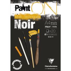975169C Paint'On Black pad A4