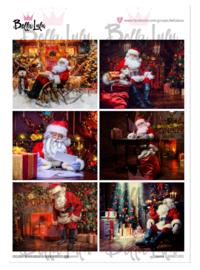 3000/1001 Bella Lulu knipvel Santa Claus