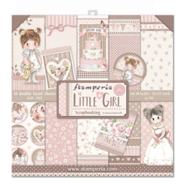 SBBL67 Stamperia Little Girl 12x12 Inch Paper Pack