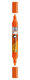 085 ONE4ALL Acrylic twin marker DARE orange