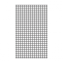 "100604-105 Vaessen Creative embossing folder 3x5"" grid"