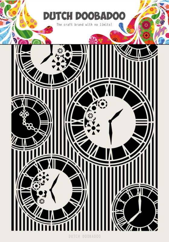 470.713.814 Mask Art Clocks
