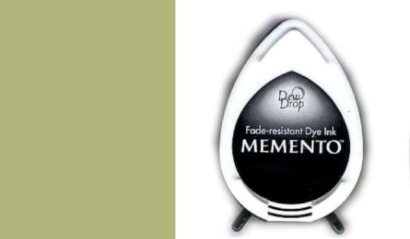 MD-000-706 Memento Dew Drop inktkussen Pistachio
