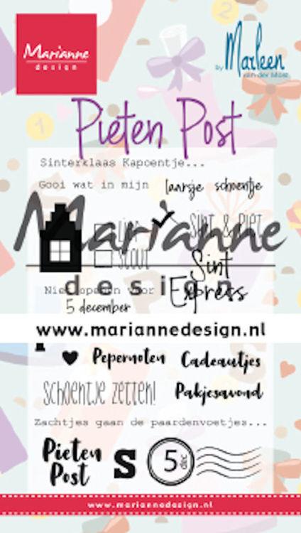 CS1042 Marianne Design - Clearstamp - Pietenpost