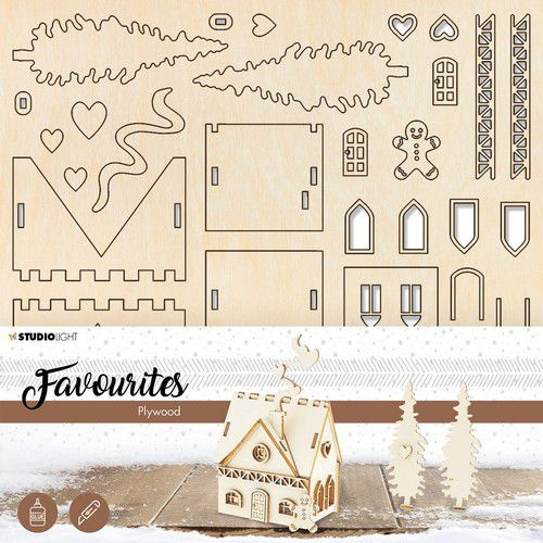 PWSL10 Plywood Favourites Bighouse Scenery nr 10