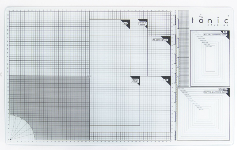 352E Tonic Studios glazen mat XL