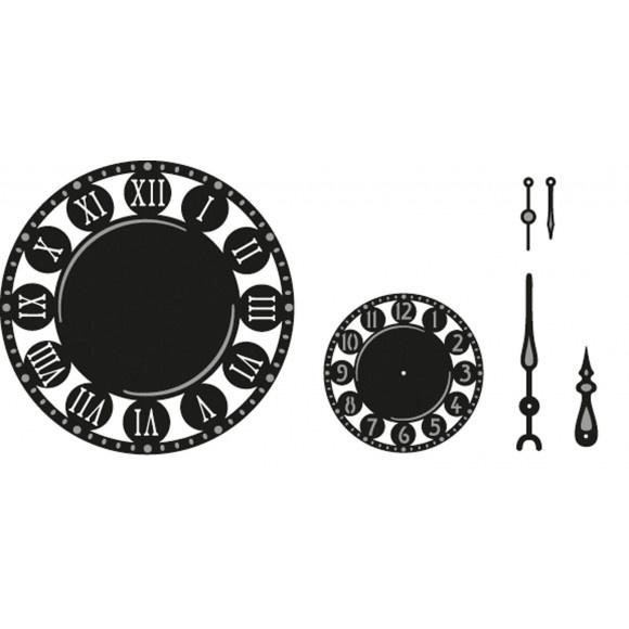 MARCR1234 Marianne Design Craftables clock