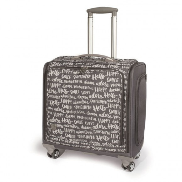 70965-7 We R Memory Keepers Crafter's trolley bag charcoal
