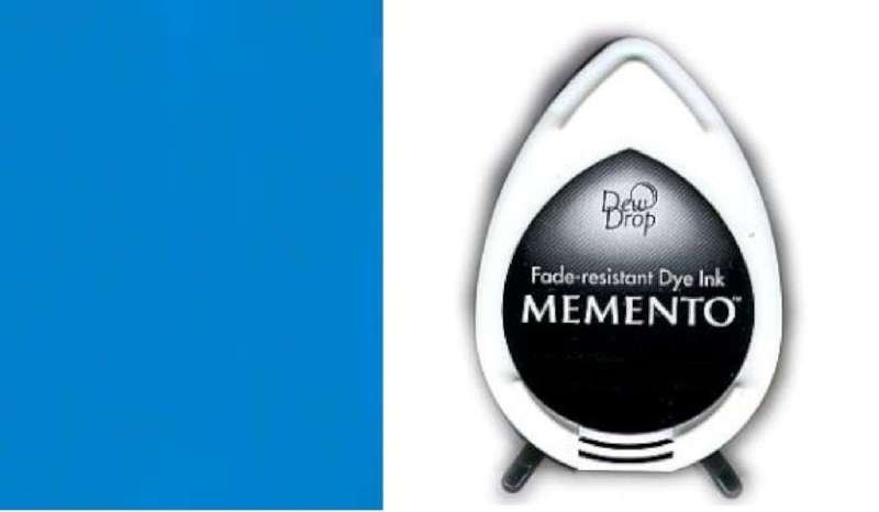 MD-000-601 Memento Dew Drop inktkussen Bahama blue