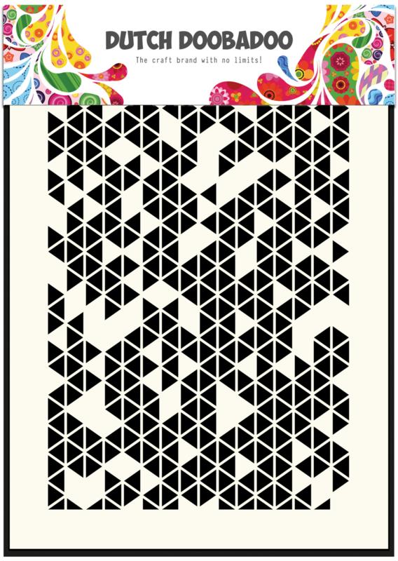470.715.120 Dutch Doobadoo Mask Art Triangles