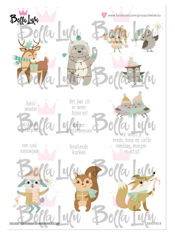 3000/0014 Bella Lulu Knipvel Holly Jolly