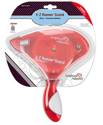 01250 E-Z Runner Grand permanent strips white