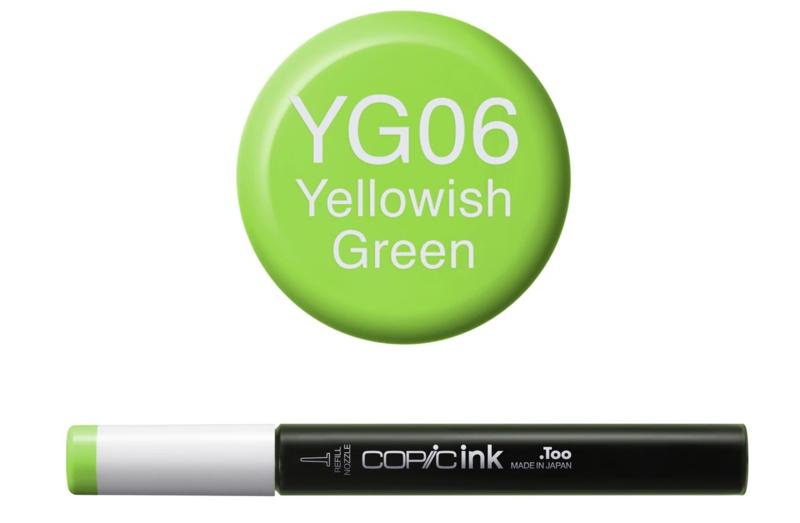 Copic inktflacon Copic inktflacon YG06 Yellowish Green