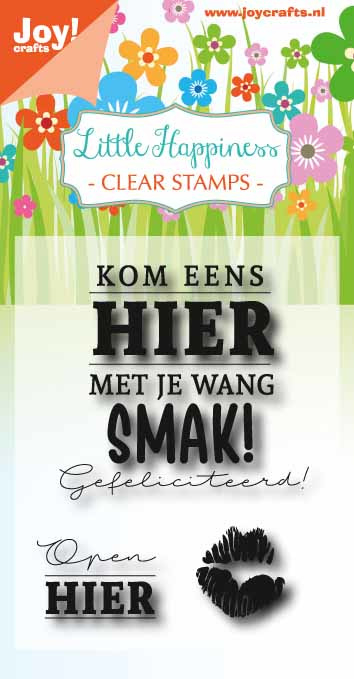 6410/0470 Stempel Birthday text - Smak!