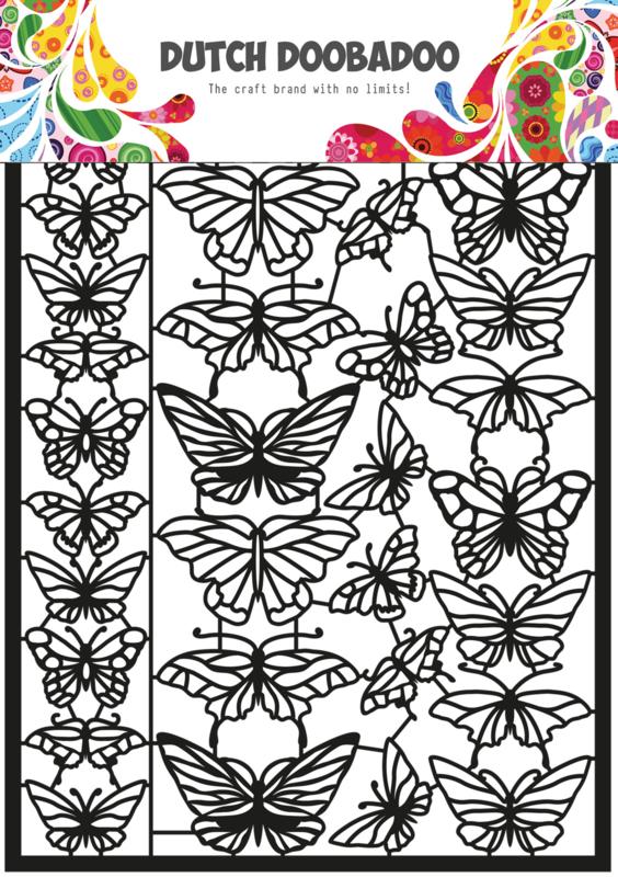 472.950.010 Dutch Paper Art Vlinders
