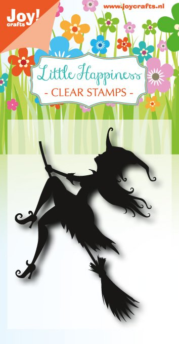 6410/0484 Stempel Flying Witch