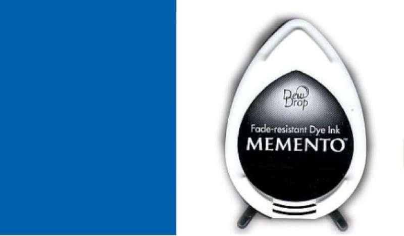 MD-000-600 Memento Dew Drop inktkussen Danube blue