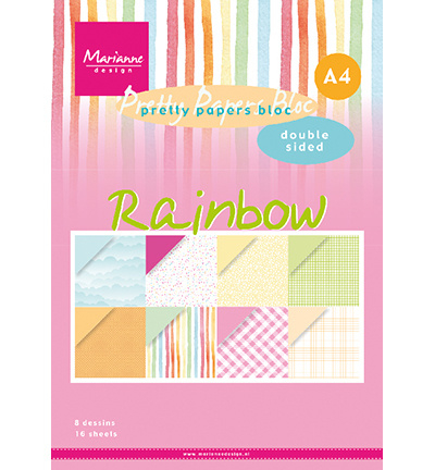 PK9175 Paperpack - Pretty Papers Rainbow