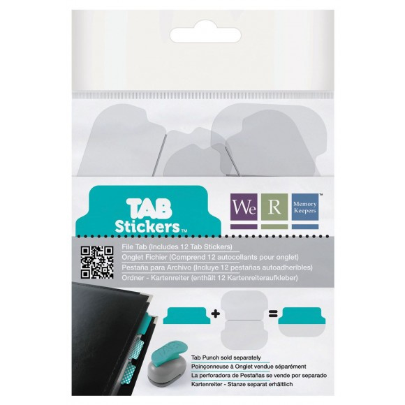 42377-5 We R Memory Keepers tab stickers file