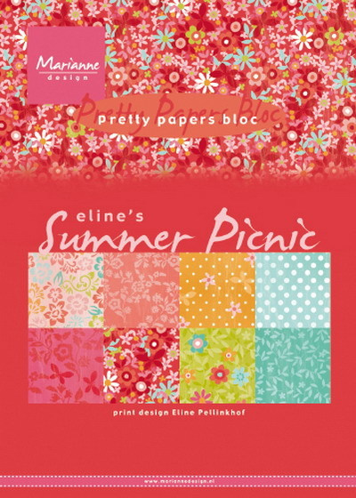 PB7056 Marianne Design Pretty Papers Eline's summer picnic