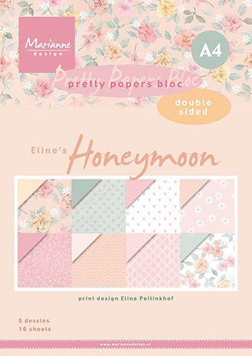 PB7060  Eline's paper bloc Honeymoon
