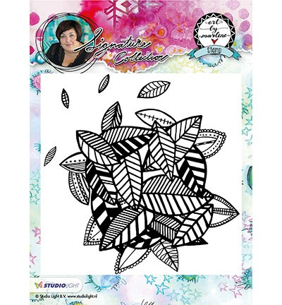 STAMPBM10 ART BY MARLENE - Cling Stamp Background 10