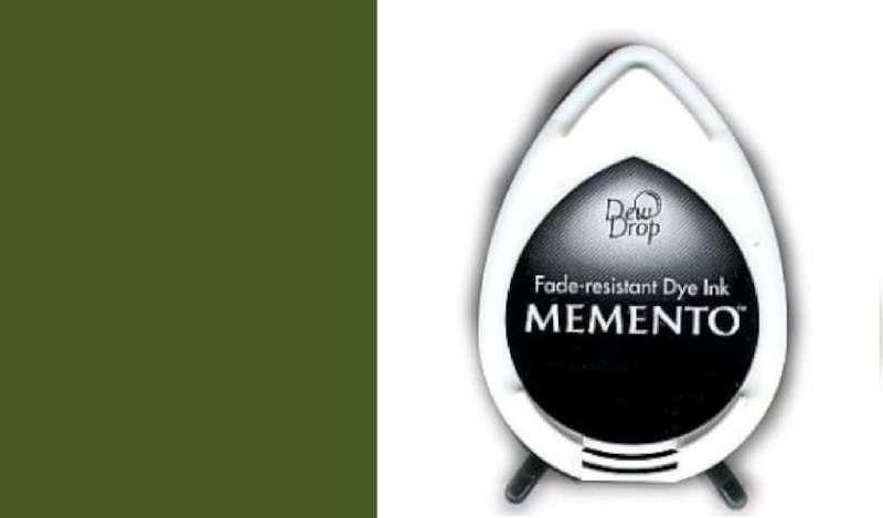 ST MD-000-708 Memento Dew Drop inktkussen Olive grove