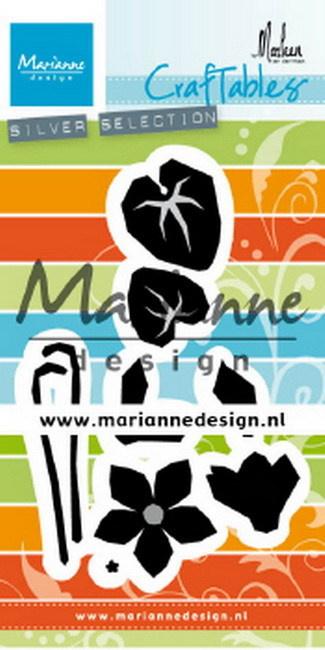 CR1479 Craftables Cyclamen by Marleen