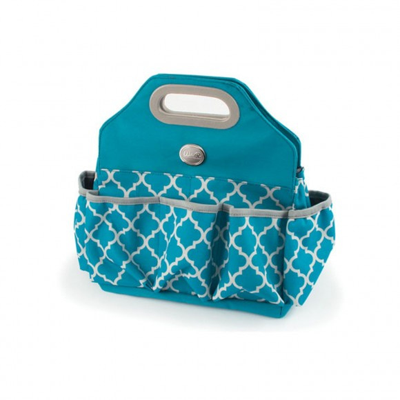 70964-0 We R Memory Keepers Crafter's tote bag aqua
