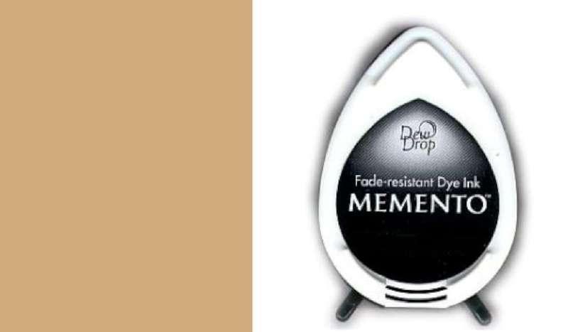 MD-000-805 Memento Dew Drop inktkussen Toffee crunch