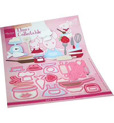 COL1493 Collectables Eline's Kitchen accessories