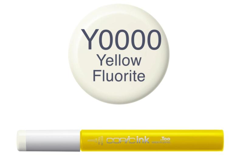 Copic inktflacon Copic inktflacon Y0000 Yellow Fluorite
