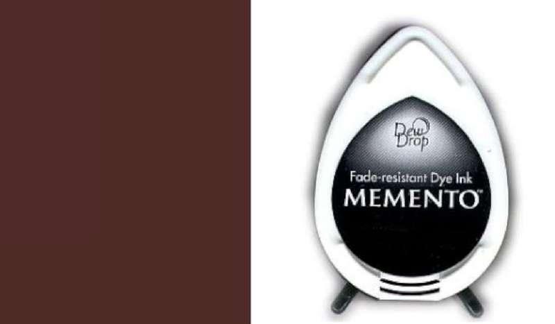 MD-000-800 Memento Dew Drop inktkussen Rich cacoa