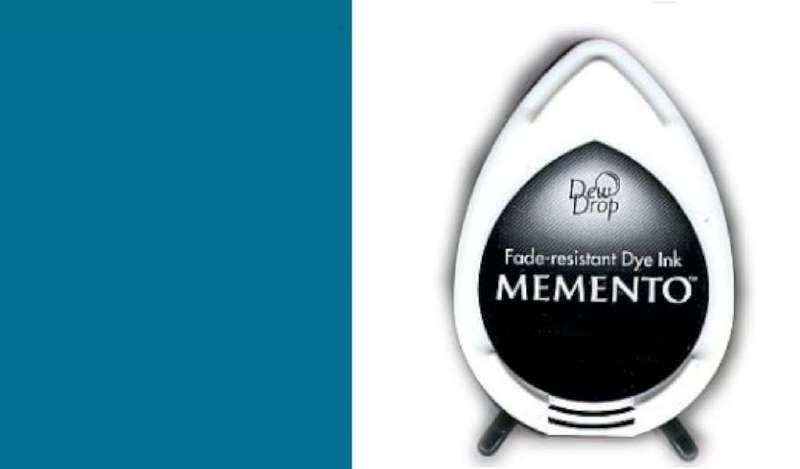 MD-000-602 Memento Dew Drop inktkussen Teal zeal