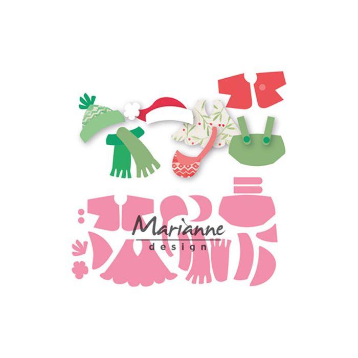 COL1438 Marianne Design Collectables Eline's Kleding