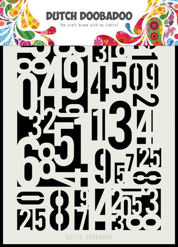 470.715.146 Mask Art A5 Chicken Numbers
