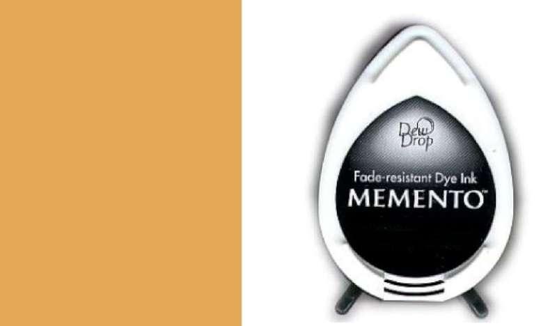 MD-000-802 Memento Dew Drop inktkussen Peanut brittle