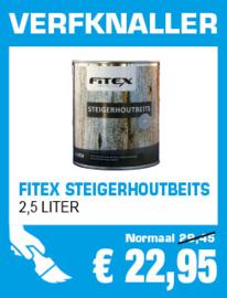 Fitex Steigerhoutbeits Blank 2,5 liter