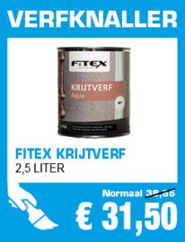 Fitex Krijtverf 2,5 liter