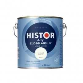 Histor Perfect Finish Acryl Zijdeglans Zonlicht Ral 9010 2,5 liter