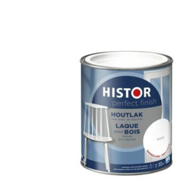 Histor Perfect Finish Houtlak Hoogglans Wit 2,5 liter