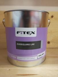 Fitex Zijdeglans Lak Ral 9001 2,5 liter