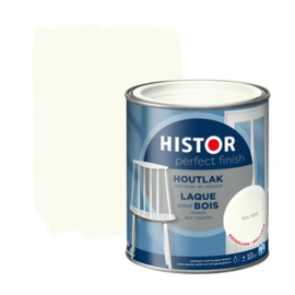 Histor Perfect Finish Houtlak Hoogglans Ral 9010 2,5 liter
