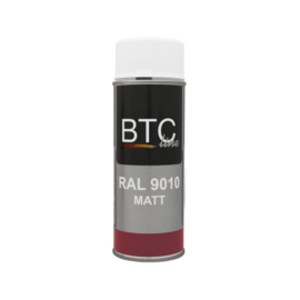 BTC Spray Professional Ral 9010 Mat 400 ml