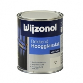 Wijzonol Dekkend Hoogglanslak Bordeauxrood 9346 750ml