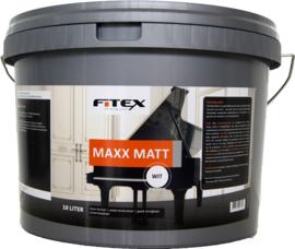 4 keer 10 liter Fitex Maxx Matt