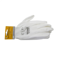 Handschoen PU-Soft Wit MT XL