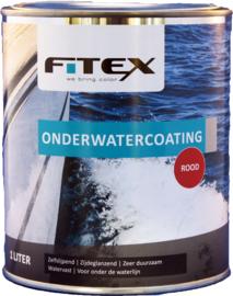 Fitex Onderwatercoating Rood 1 liter