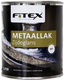 Fitex Metaallak Zijdeglans 1 liter